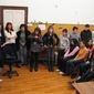 Децата и техните учители изгледаха с интерес презентацията