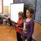 Поли от 5 клас и Симона от 8 клас